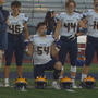 Local high school football players join national anthem debate