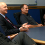 Gov. Pete Ricketts sits down with manufacturing employees in Minden