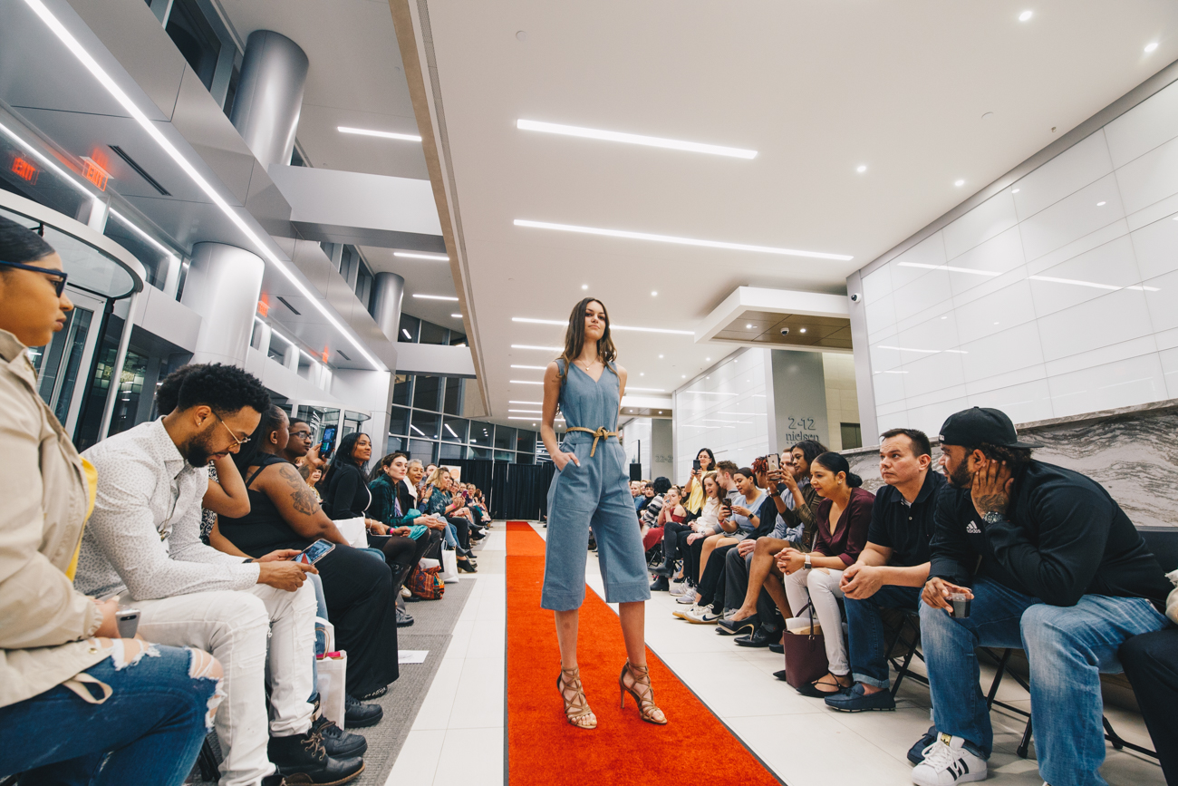 The fashion show was sponsored by Eco Eden, a company of brands that encourage sustainable apparel and women empowerment. / Image: Catherine Viox // Published: 3.23.19