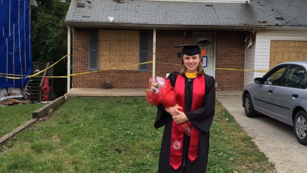 UMD student loses everything in house fire, including graduation cap ...