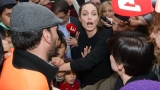 Gallery: Angelina Jolie visits refugees in Greece