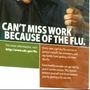 Illnesses can spread quickly in workplaces as flu epidemic continues