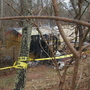 Buncombe County man dies after storage shed he was living in catches fire