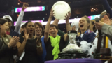 Arike does it again! Notre Dame wins the NCAA women's championship on a buzzer beater