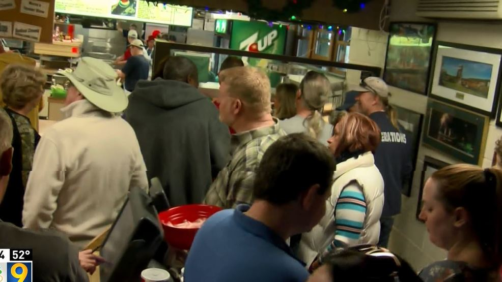 Coleman s serves up holiday tradition wtov for Coleman s fish market