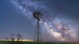 Milky Way Galaxy shines bright from Washington's Palouse