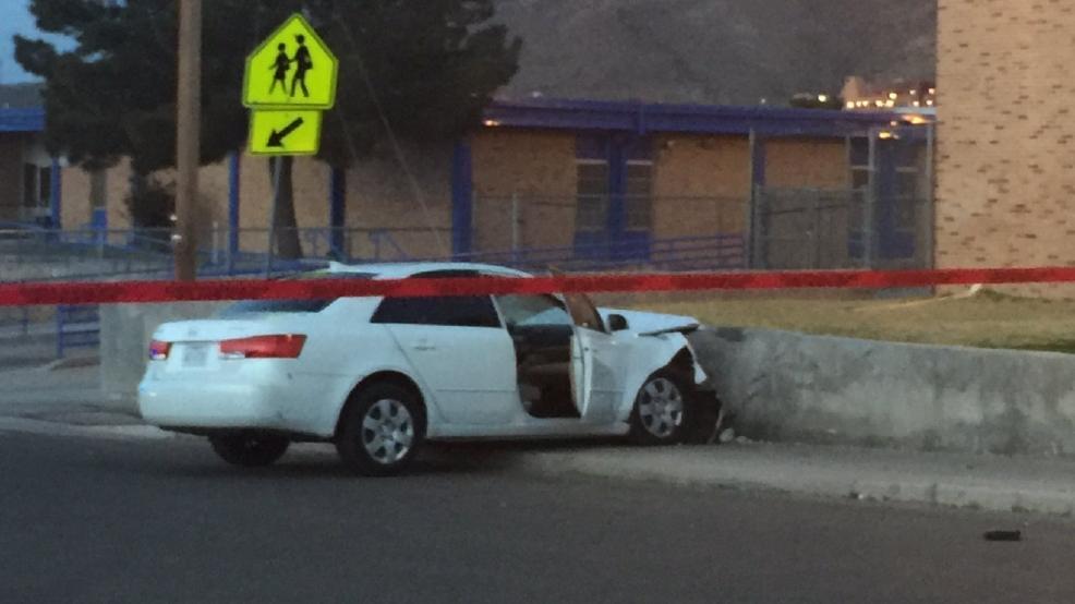 One person in hospital following crash in central el paso for Red line motors el paso tx