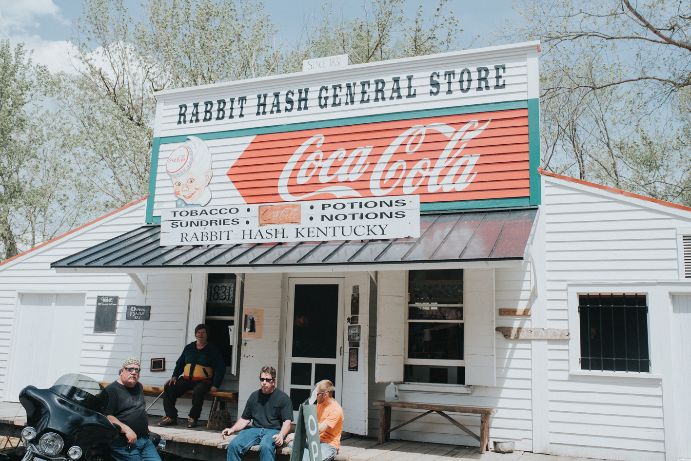 Despite burning down early last year, the Rabbit Hash General Store (a 186-year-old institution) was rebuilt as an exact replica of its predecessor. It remains on the National Register of Historic Places. / FUN FACT about Rabbit Hash: A 3-year-old pit bull named Brynneth Pawltro is the mayor. That is entirely true. A dog is the mayor. / DRIVE TIME from Cincy: Approximately 50 minutes / ADDRESS: 10021 Lower River Rd., Rabbit Hash, KY 41005 / Image: Brianna Long // Published 4.19.17