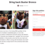"WMU students launch petition to bring back ""goofball"" Buster mascot"