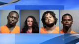 Four arrested on crack cocaine, meth charges following months-long investigation