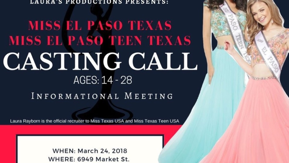 Interested In Competing For Miss El Paso Texas Miss El Paso Teen