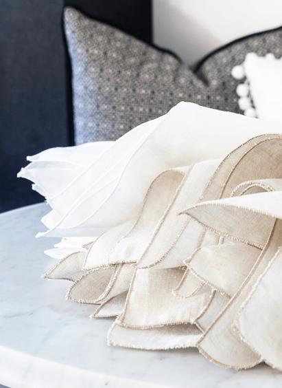 Nothing is more classic or versatile than a linen napkin. Mix and match them with other napkins and go bold with a modern or eclectic tablescape. These will stand the test of time! https://www.amazon.com/Pure-Linen-Oversized-Napkins-Pack/dp/B00HFSNBM4/ref=asc_df_B00HFSNBM4/?tag=hyprod-20&linkCode=df0&hvadid=198067269527&hvpos=1o6&hvnetw=g&hvrand=14446592643159572741&hvpone=&hvptwo=&hvqmt=&hvdev=c&hvdvcmdl=&hvlocint=&hvlocphy=9061285&hvtargid=pla-349400614069&psc=1 (Image: Ashley Hafstead)