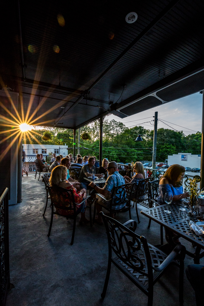 PLACE: Bishop's Quarter / ADDRESS: 212 W Loveland Avenue (45140) / Enjoy cocktails and French Quarter-themed menu items along the Loveland Bike Trail at Bishop's Quarter. You'll find outdoor seating on every one of its three stories. / Image: Catherine Viox // Published: 7.7.19