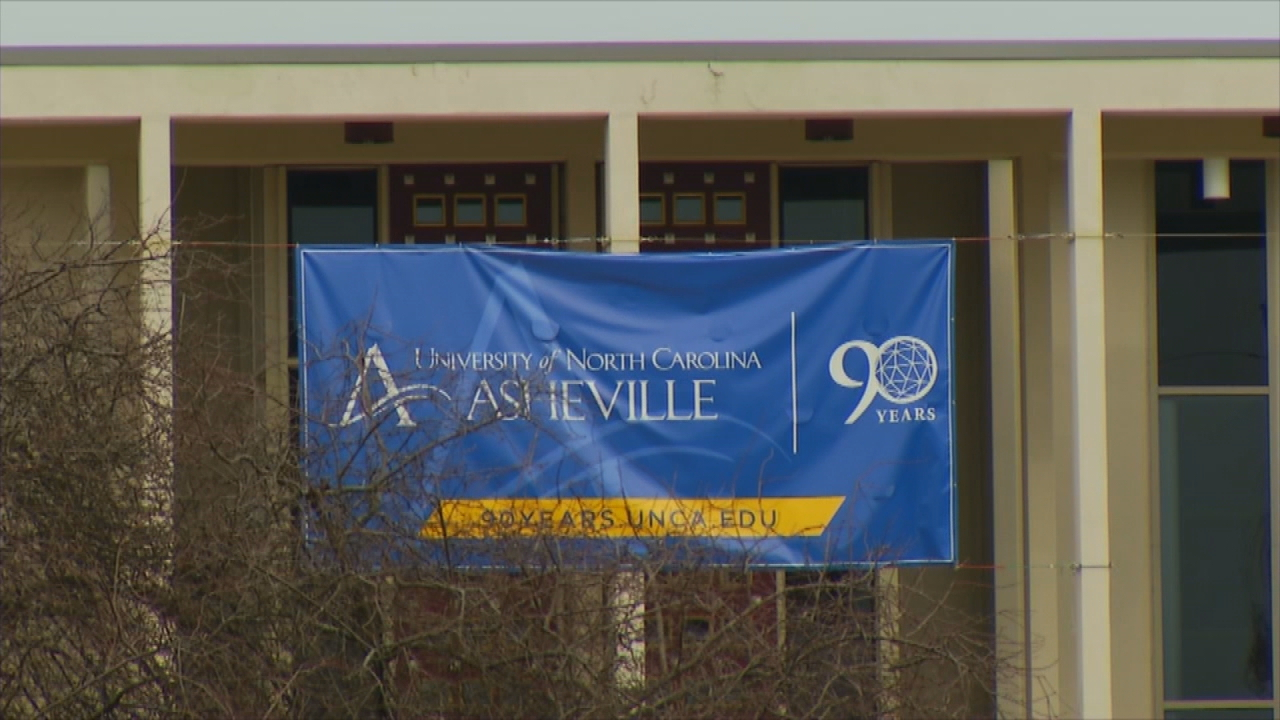 UNC Asheville on Dec. 15, 2017. The 28-member University of North Carolina Board of Governors on Friday afternoon unanimously voted to approve a revised free-speech policy focused on potential protests of controversial speakers. (Photo credit: WLOS Staff)