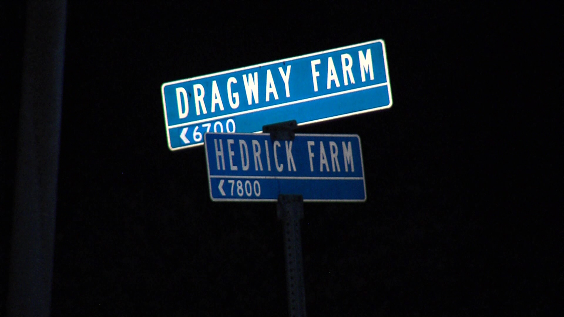 The victim was sitting on curb on the 7800-block of Hedrick Farm in the Walzem Farms neighborhood on the Northeast Side. (SBG Photo)