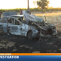 No one hurt in fiery crash near Kingsburg church