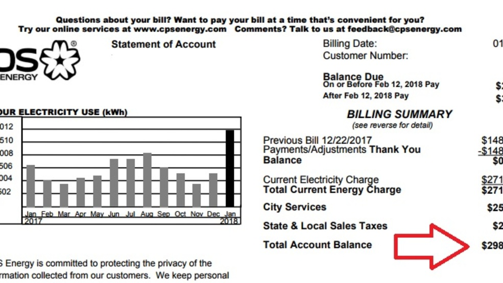 Doubled Up High Electric Bill San Antonio Customers Wallets Kabb