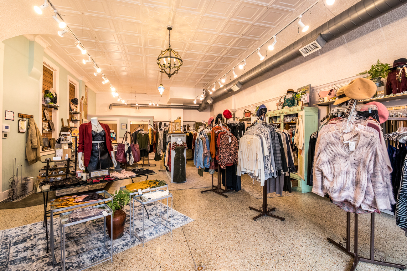 SHOP: Kismet OTR / ADDRESS: 1233 Vine Street (45202) /{ }The Pangaea and Kismet shops feature a huge variety of bohemian and vintage-inspired clothing items, sterling silver and gemstone jewelry, accessories, shoes, and more. / Image: Catherine Viox // Published: 3.12.20