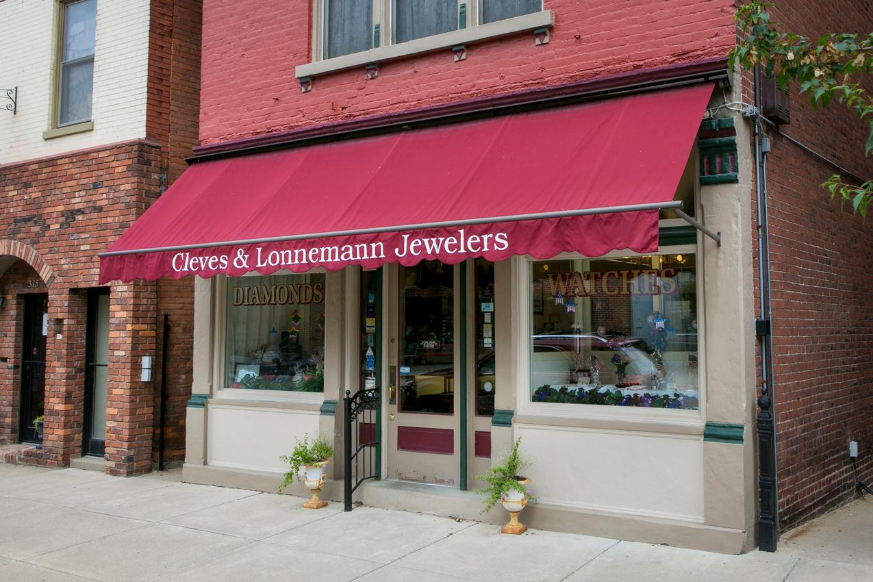 There's no better place to bring in your used jewelry, including watches, rings, necklaces, broaches, and earrings, than Cleves and Lonnemann Jewelers. They've been servicing Bellevue and the surrounding region since 1932. Now in their fourth generation of family ownership, they're one of the most trusted names in the region. ADDRESS: 319 Fairfield Avenue (41073) / Image: Mike Bresnen // Published: 9.7.18