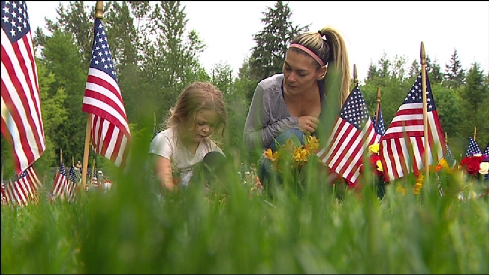 Photos: Locals honor fallen soldiers on Memorial Day