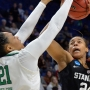 Stanford rallies, edges Notre Dame 76-75 to reach Final Four