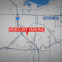 Fire at Mercury Marine plant