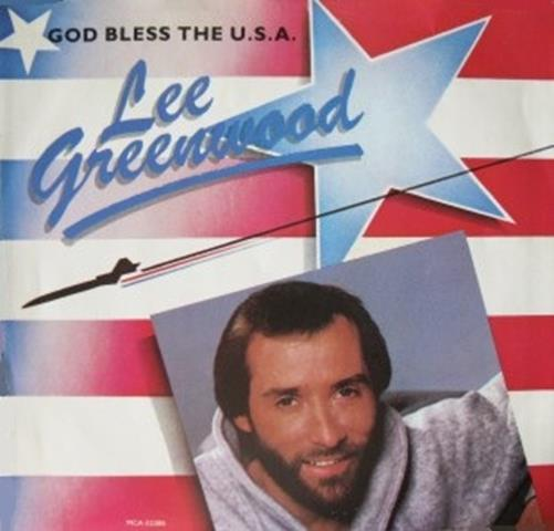 Lee Greenwood's live performance:http://www.youtube.com/watch?v=xf8hfZuzw_A