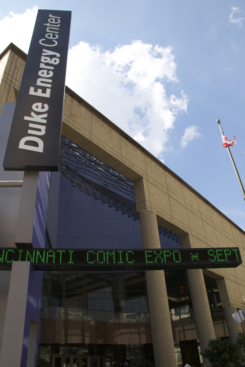 The 2016 Cincinnati Comic Expo is taking place Sept. 23-25 at the Convention Center with featured guest Stan Lee. / Image: Dr. Richard Sanders