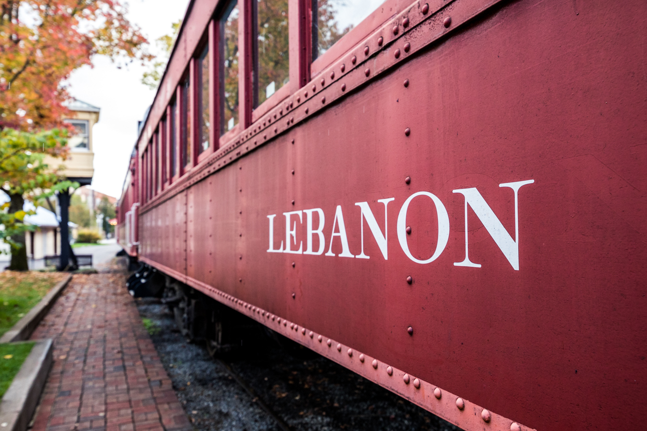 It operates on 16 miles of track that runs between Lebanon, Mason, and Monroe. Most trips consist of the LM&M running 4.4 miles south from Lebanon Station to Hageman Junction. It runs over the famous right-of-way of the Cincinnati, Lebanon, & Northern (CL&N) Railroad—a passenger and freight line dating back to 1881 that connected Cincinnati to Dayton through Lebanon. Functioning mainly as a commuter route in its day, three trains would head south from Lebanon each morning to arrive at the CL&N's Court Street Depot, which is where Hard Rock Casino sits today. / Image: Catherine Viox // Published: 11.11.20