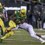 Oregon RB Freeman won't play in the Las Vegas Bowl