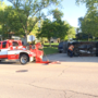 No injuries in morning rollover accident