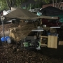 Saturday storms damage tents, items at Chattanooga Market