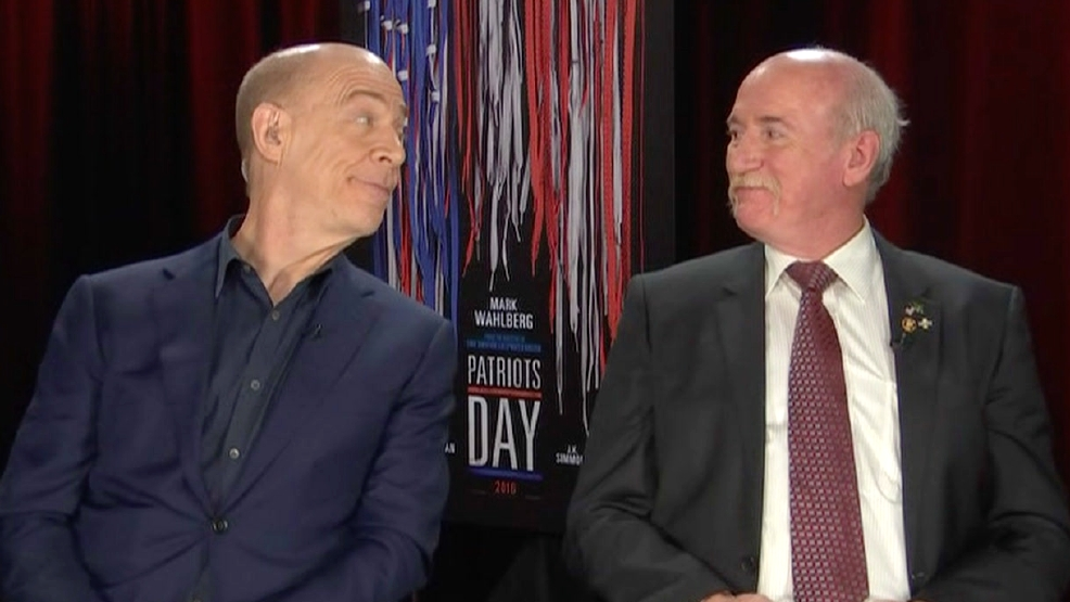 "JK Simmons & Jeff Pugliese on ""Patriots Day"""