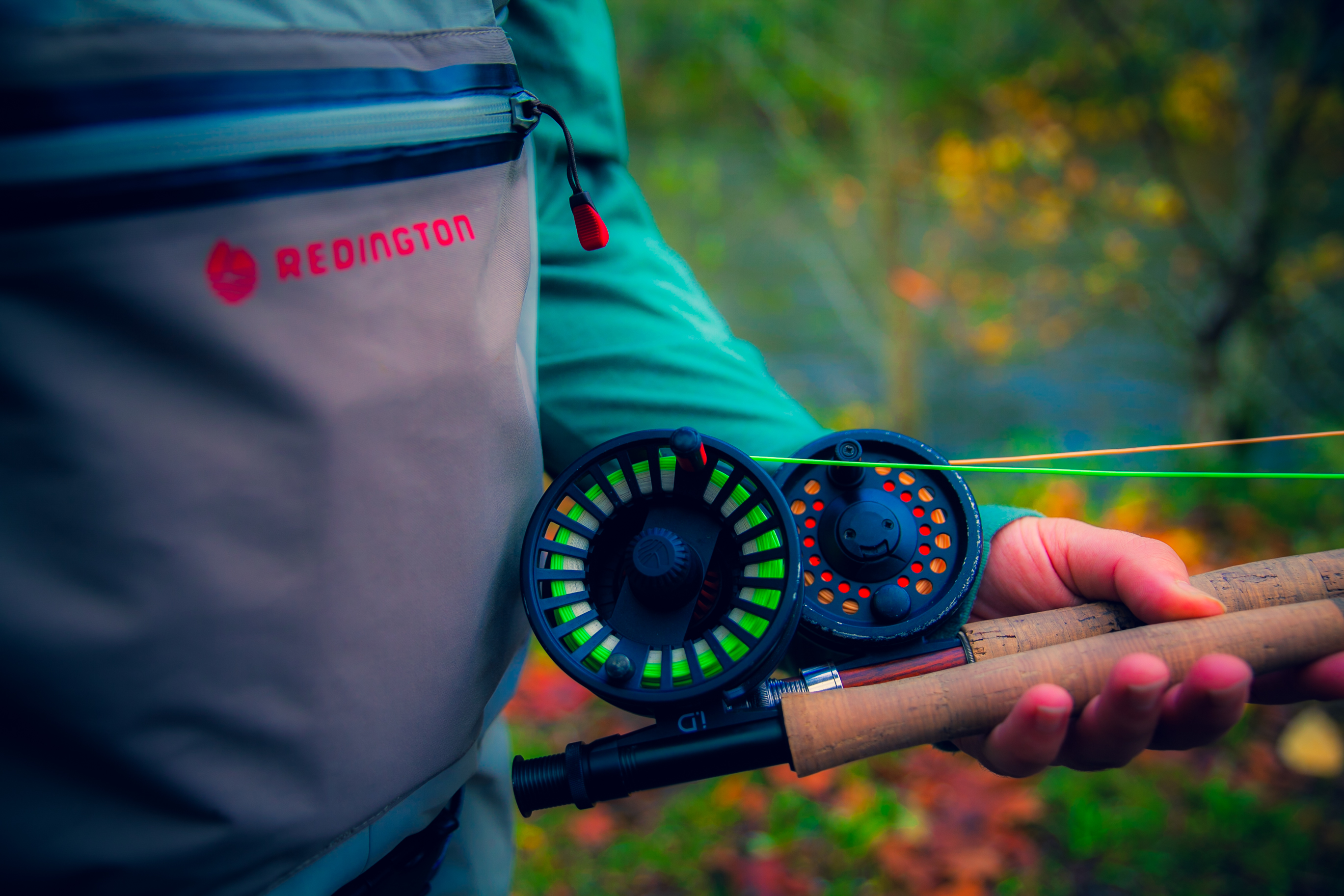 PNW fly fishing hot spots tested and approved for you! (Image: Zoe Pappas / Seattle Refined){ }