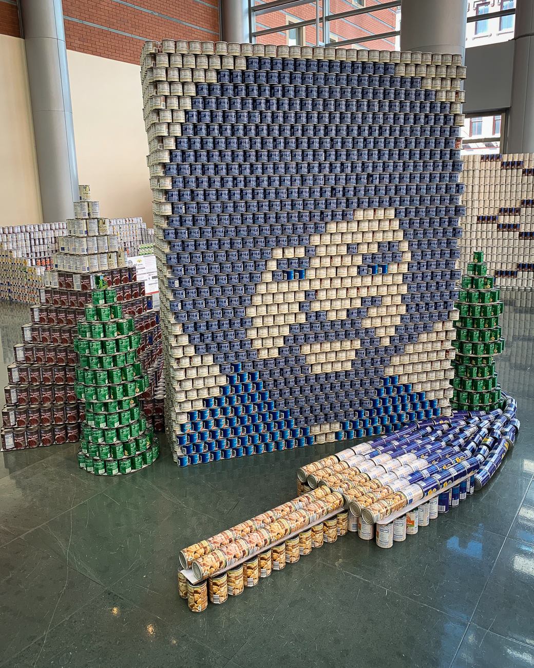 Structure: Happy Little Cans / Team: Champlin Architecture / Location: The Weston Art Gallery in the Aronoff Center for the Arts / Image: Phil Armstrong, Cincinnati Refined // Published: 3.28.19