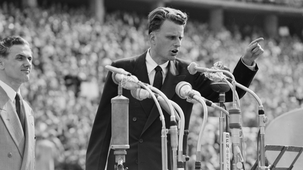 US may never see another spiritual leader like Billy Graham