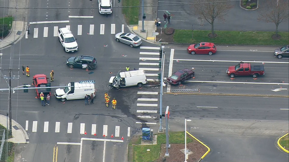 S R  303 reopens after 6-vehicle crash in Bremerton | KOMO