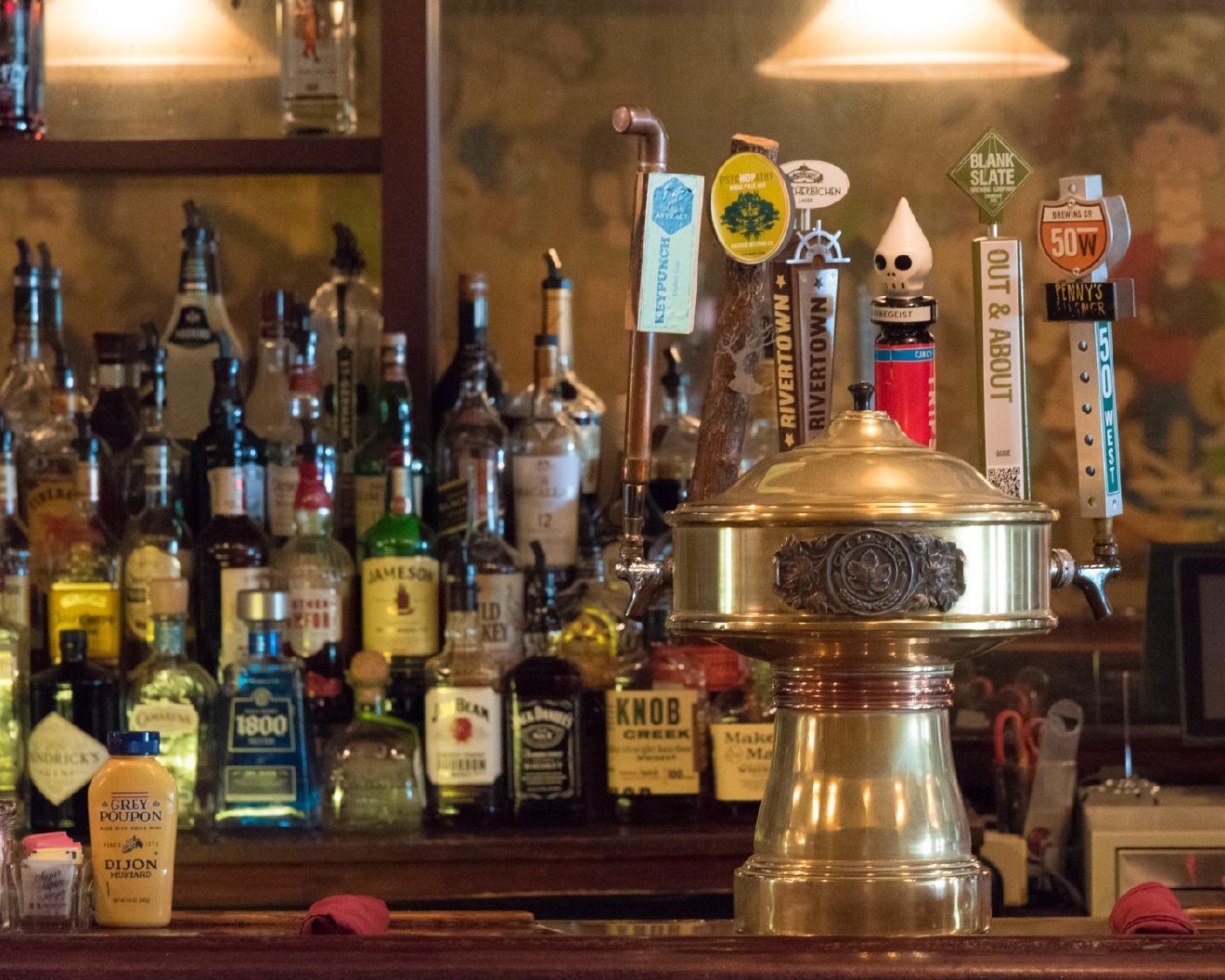 Arthur's Café has only served local beers on tap since 2012. / Image: Phil Armstrong, Cincinnati Refined