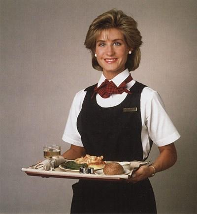 Alaska Airlines uniforms from the 1980s. Photo courtesy Alaska Airlines