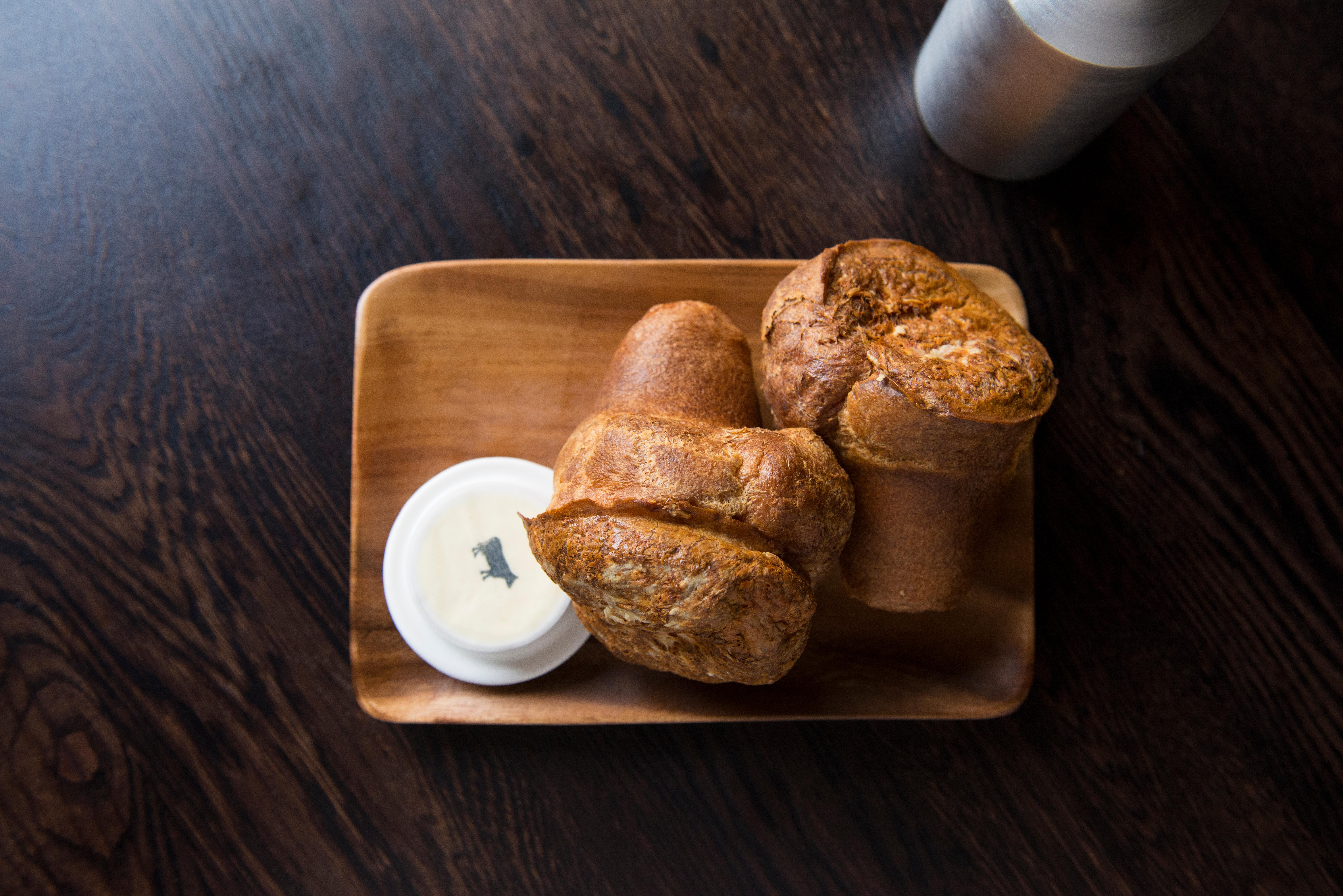 These popovers are the stuff of legend.  (Image: Courtesy BLT Steak)