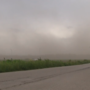 Dust Storm Gnarls Roads across Springfield Area