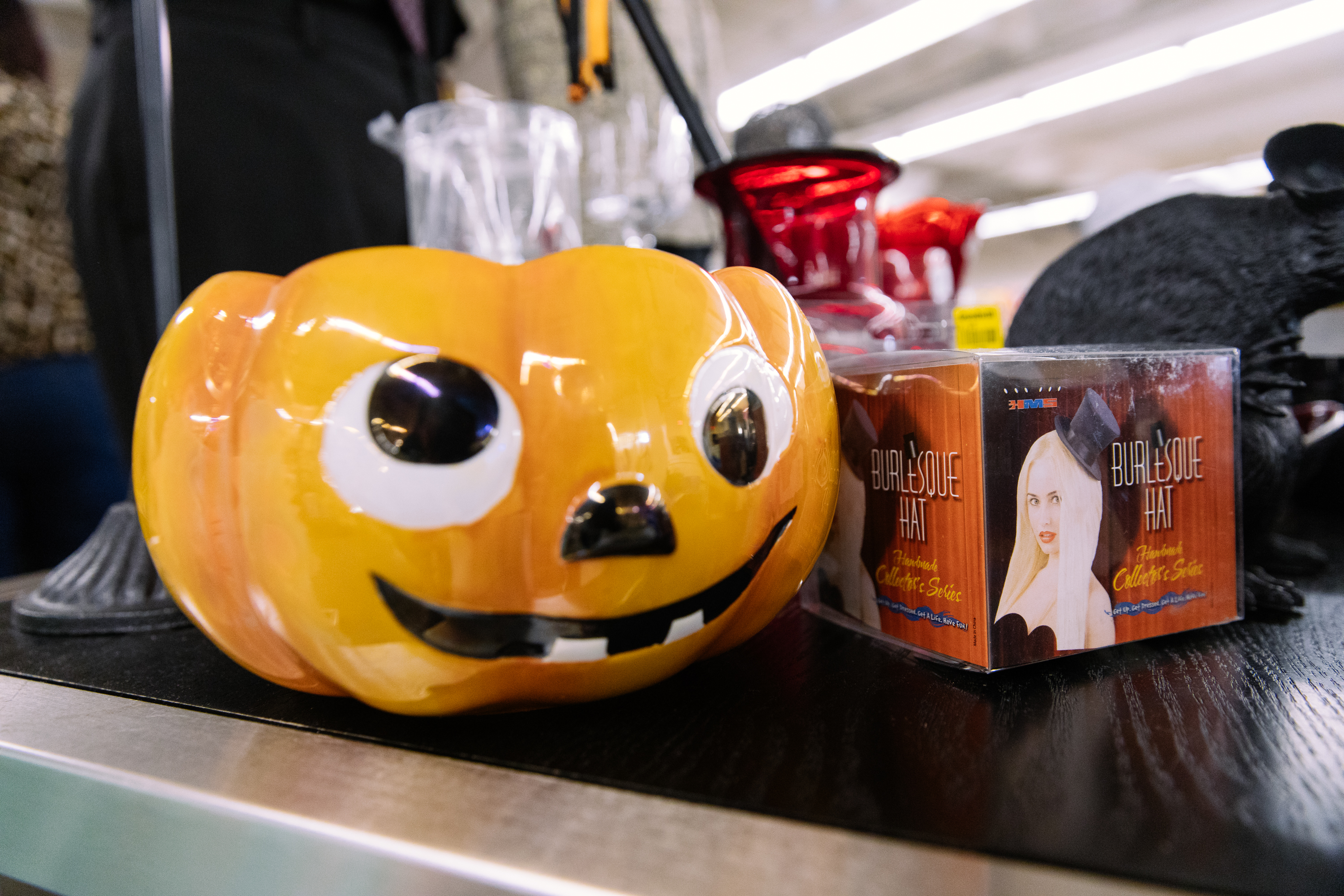 Seattle Goodwill is stocked with stuff to create a 'spooktacular' Halloween! You never know what treasures you can score this thrifty super store including kitschy finds, costumes, Day of the Dead gear and so much more. (Photo: Seattle Goodwill)