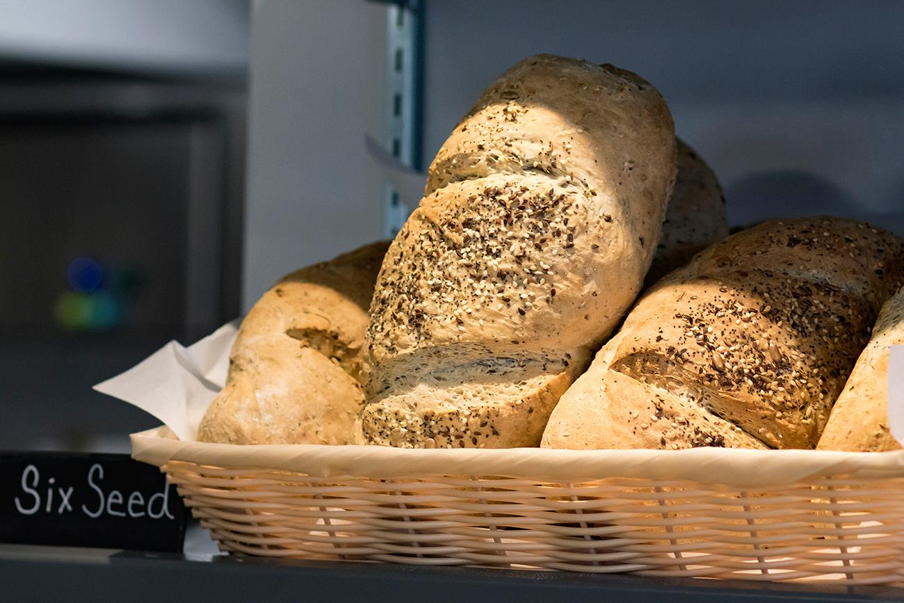 Six seed bread{ }/ Image: Allison McAdams // Published: 2.7.19