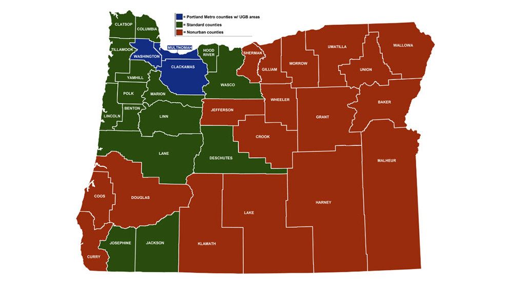 portland or county map Earn Minimum Wage You Get A Raise July 1 In Oregon How Much portland or county map