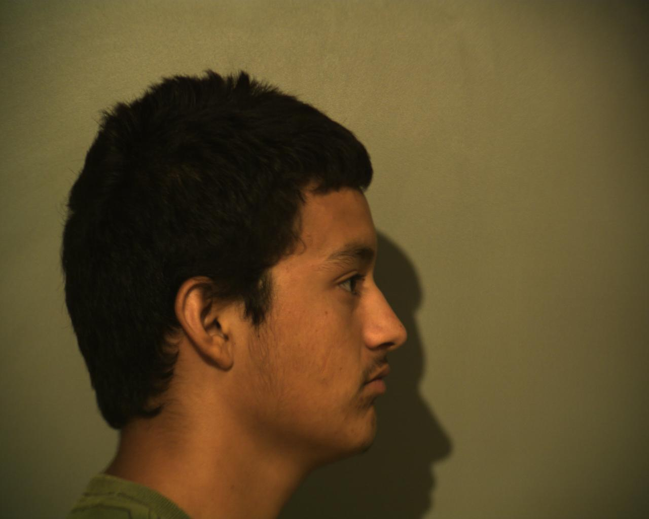 Jose Heriberto Zuniga, 21, of Peñitas is charged with bringing in and harboring aliens. (Photo courtesy of the Hidalgo County Sheriff's Office)