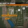 Five injured in bad crash near LaPorte County Fairgrounds