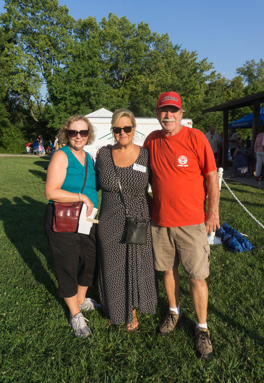 Cheryl & John Brinkmeyer with Tracy Winkler / Image: Sarah Vester // Published: 8.1.17