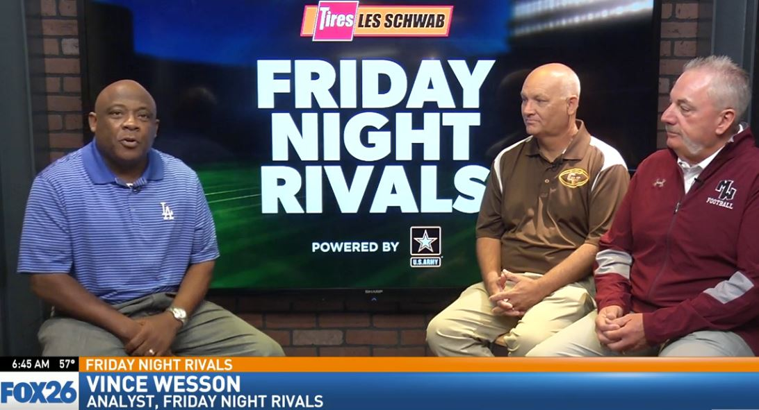 Friday Night Rivals analyst Vince Wesson sat down with Gold West head football coach Paul Preheim and Mt. Whitney head football coach Marty Martin, to talk about Friday's game.