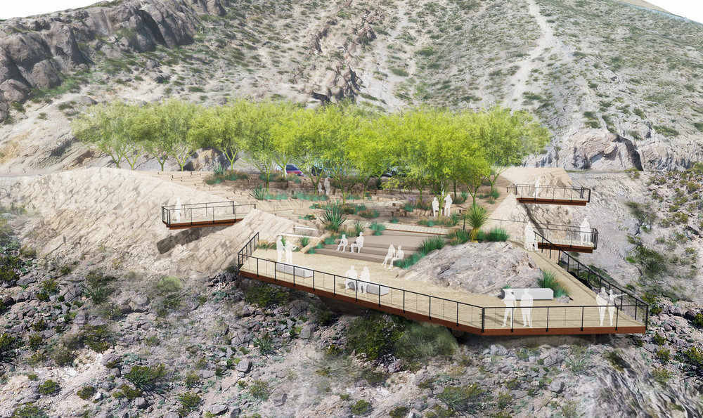 <p>Rendering of Murchison Rogers Park courtesy of the City ofEl Paso.</p>