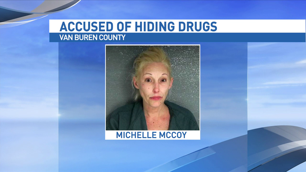 Woman arrested for car theft admits to hiding meth in her